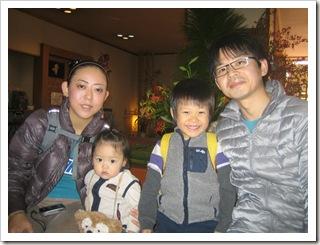 東京都より家族温泉旅行でご宿泊