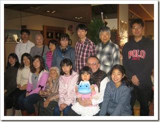 千葉県より四世帯家族温泉旅行でご宿泊