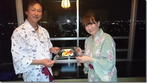岐阜県より夫婦温泉旅行でのご宿泊